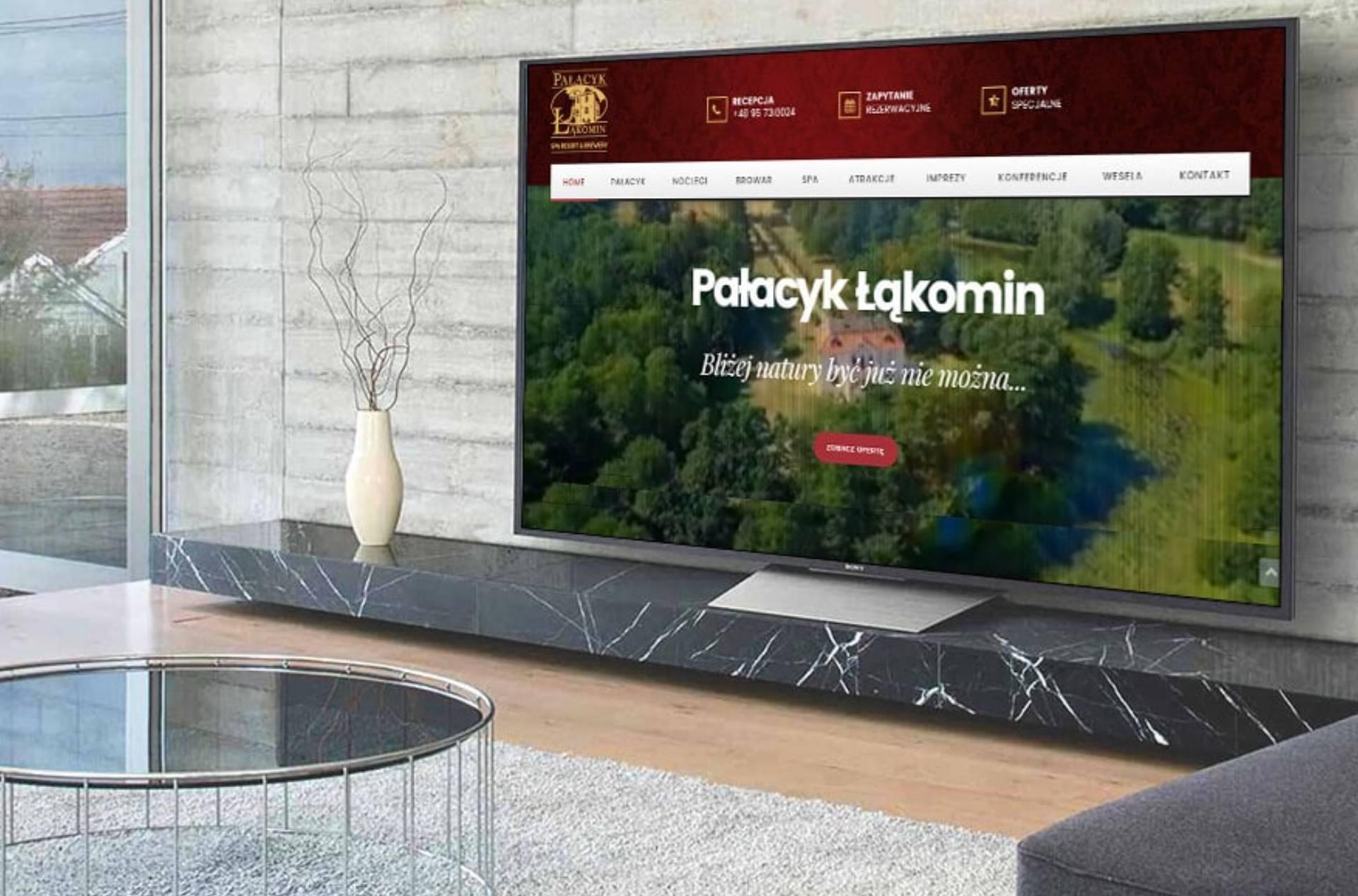 ROAN24 Palace Łąkomin Website