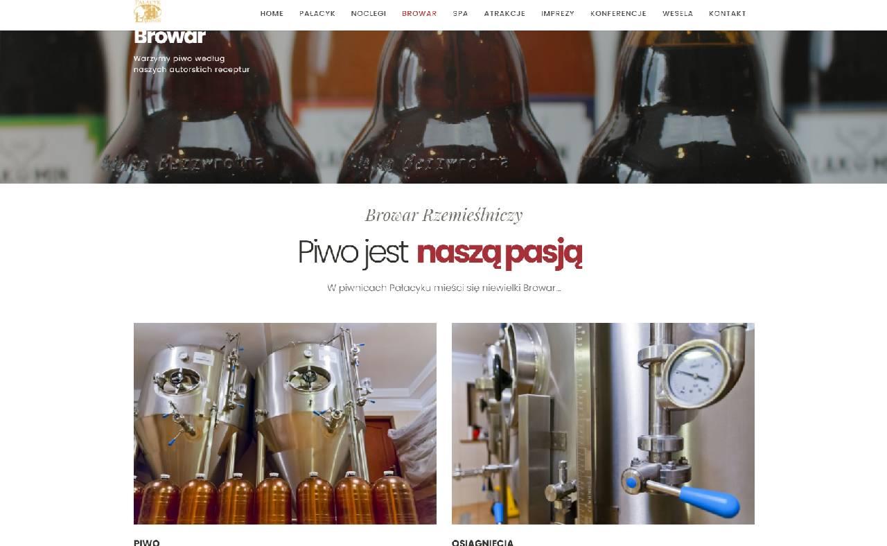 ROAN24 Palace Łąkomin Brewery Website