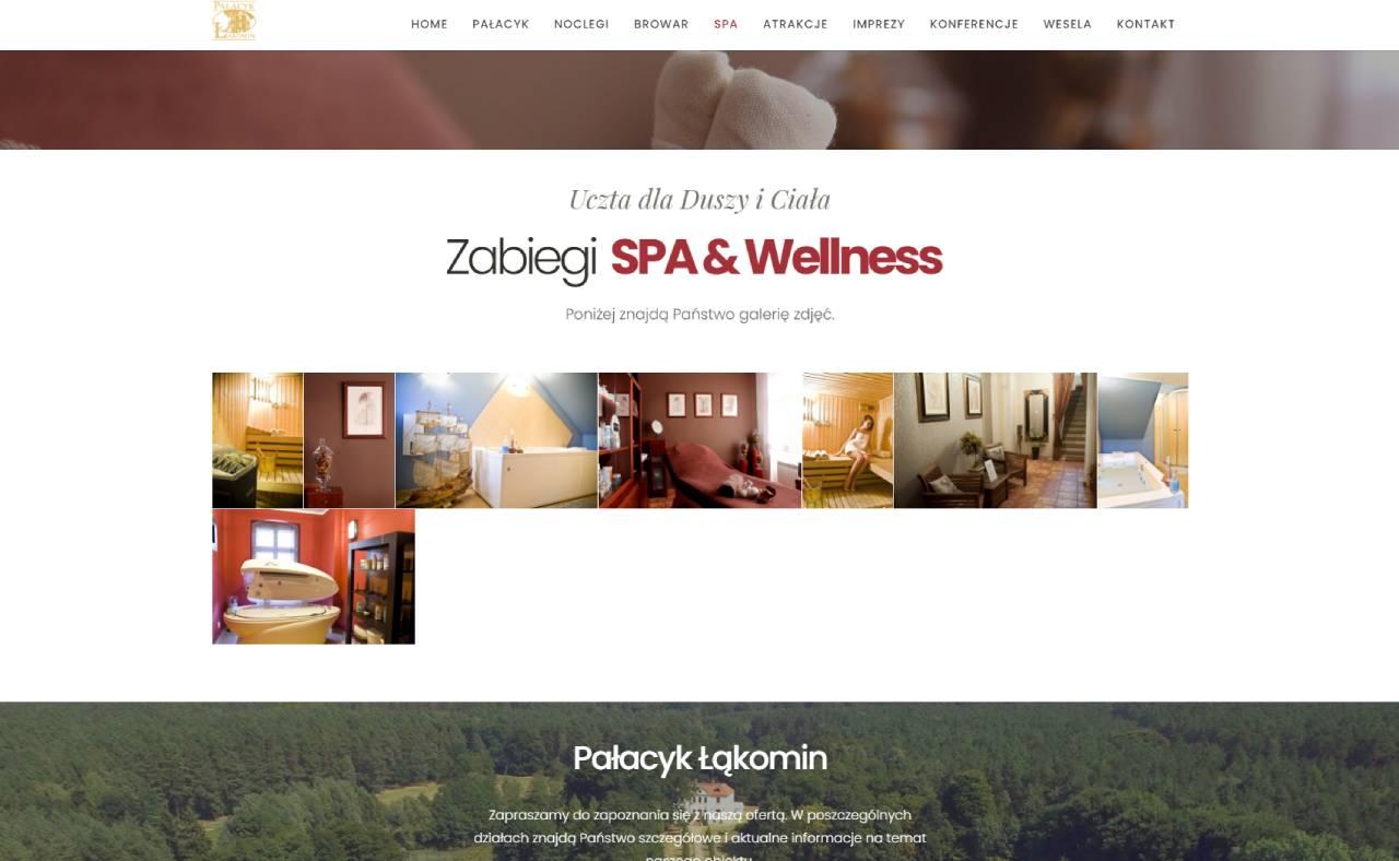 ROAN24 Palace Łąkomin SPA Sito web