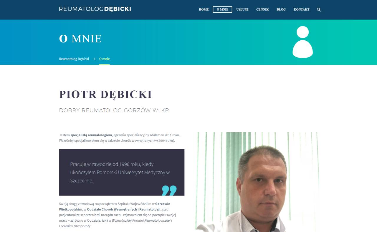 Roan24 Reumatologo Debicki.com Chi sono