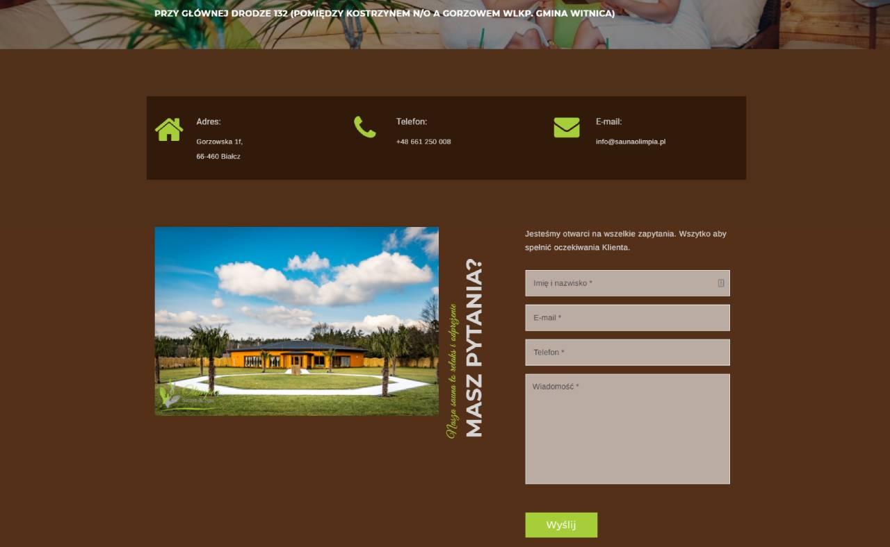 ROAN24 Sauna Olimpia Sito Web Contatto