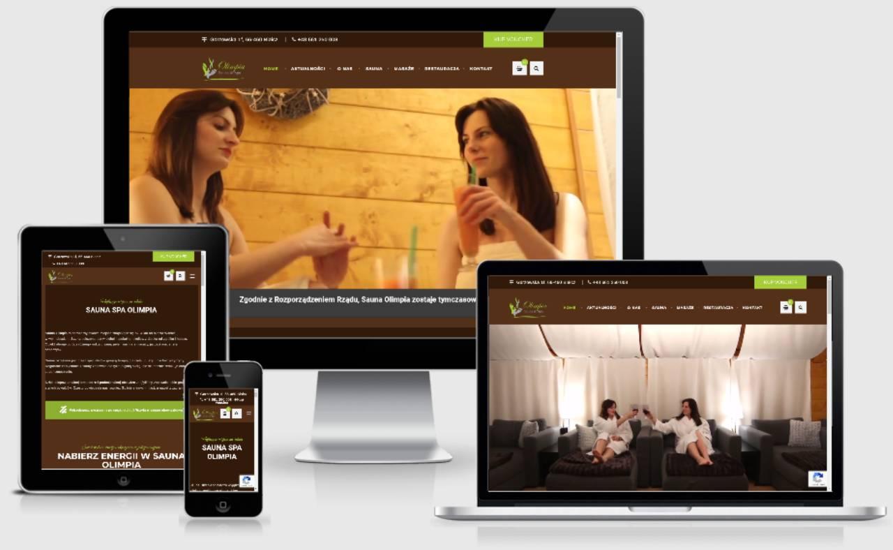 ROAN24 Sauna Olimpia Sito web reattivo