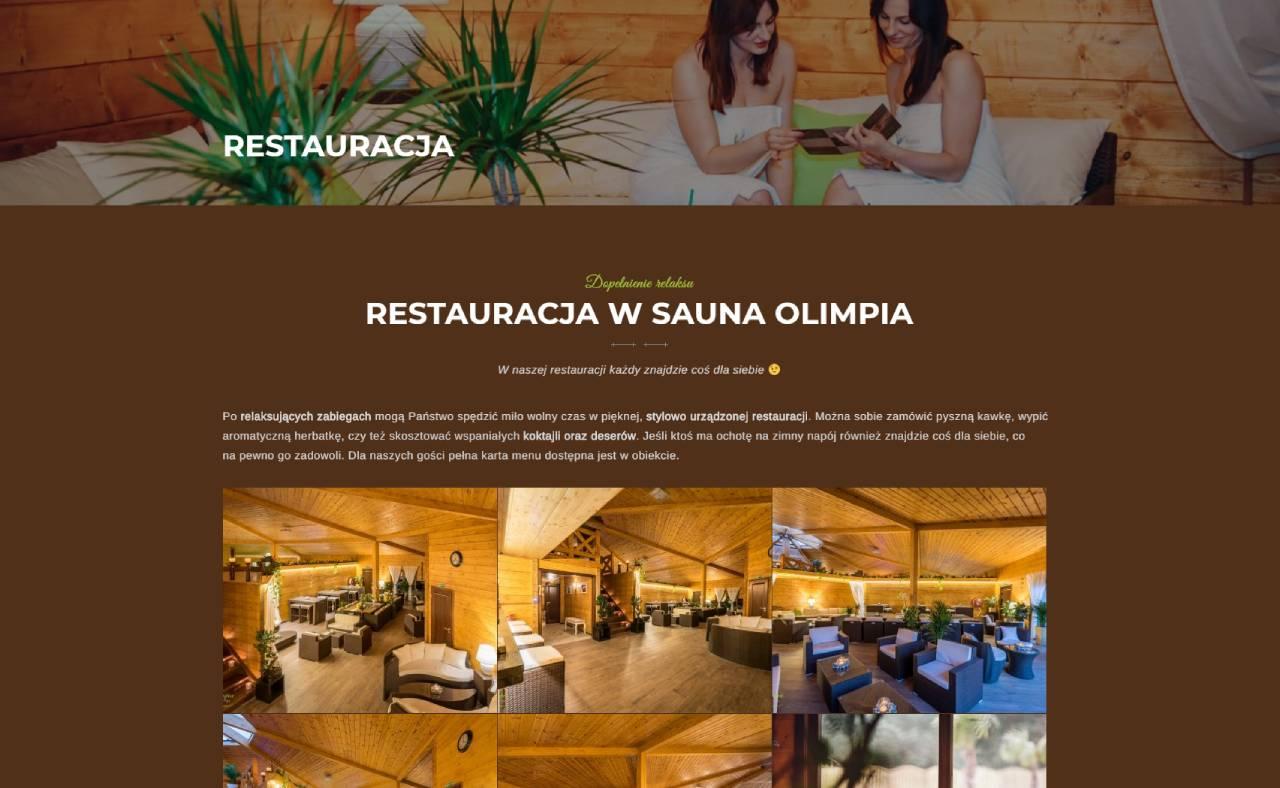 ROAN24 Sauna Olimpia Sito Web Ristorante