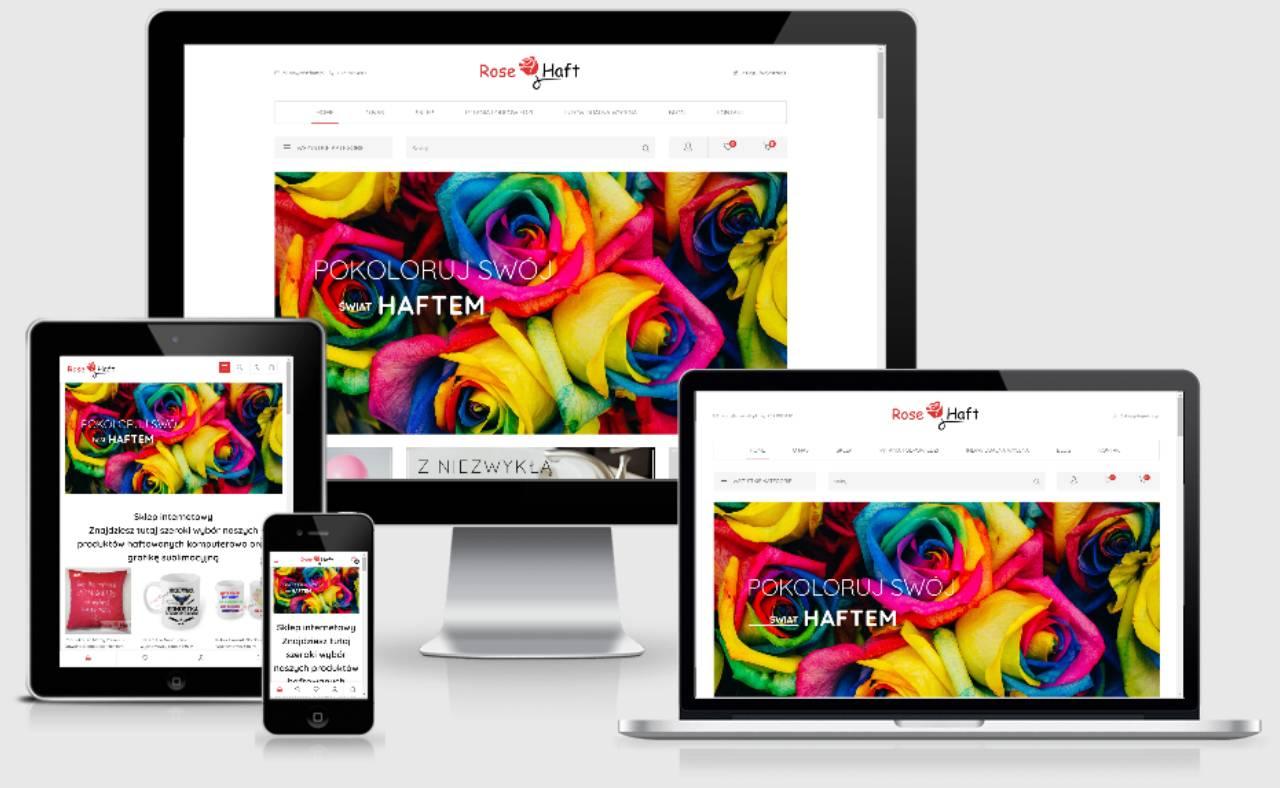 ROAN24 Rose ricamo negozio online reattività