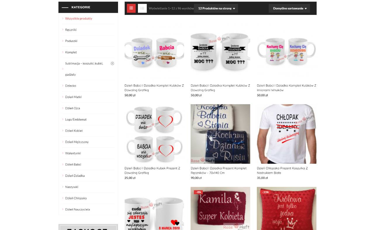 ROAN24 Rose ricamo negozio online